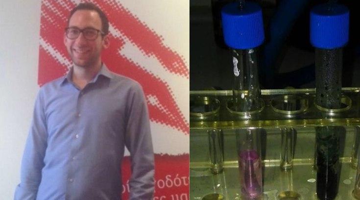 Έλληνας δημιούργησε υγρό τεστ που εντοπίζει τα ποτά «μπόμπες»