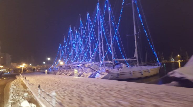 ΤΩΡΑ- Εικόνες μέσα από την πόλη και την παραλία μας!