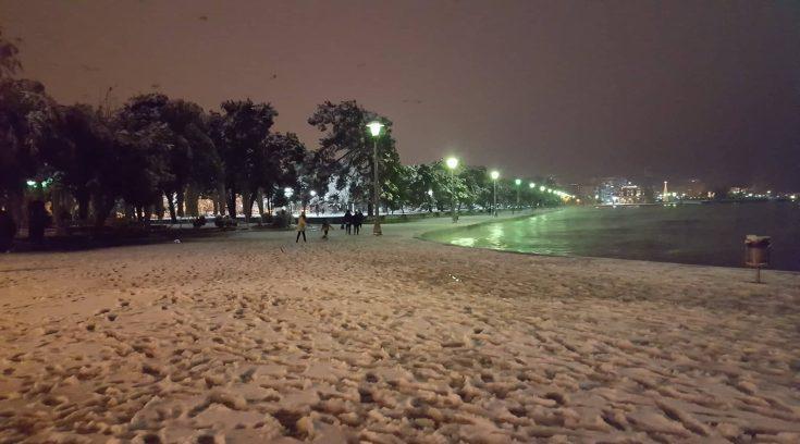 Ένας λευκός παράδεισος η πόλη μας ε; (ΦΩΤΟ)