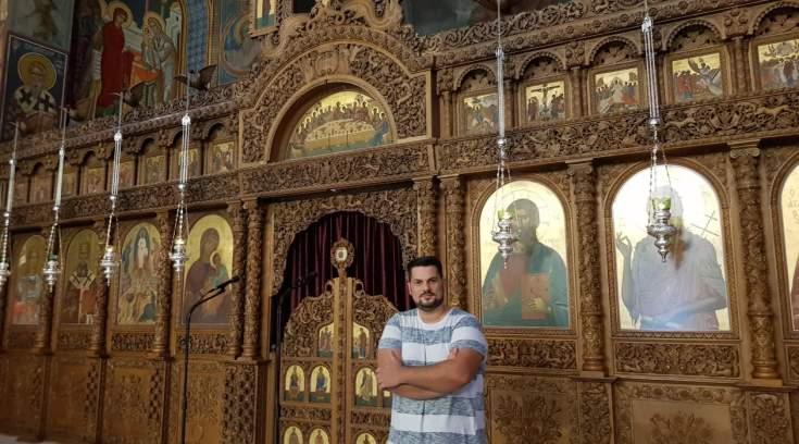 Η οικογένεια πίσω από τον αριστουργηματικό ναό της Μεταμορφώσεως στον Βόλο!