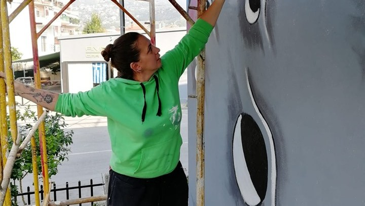 Βολιώτισσα έκανε τοιχογραφία που εντυπωσιάζει, δες την! (ΦΩΤΟ)