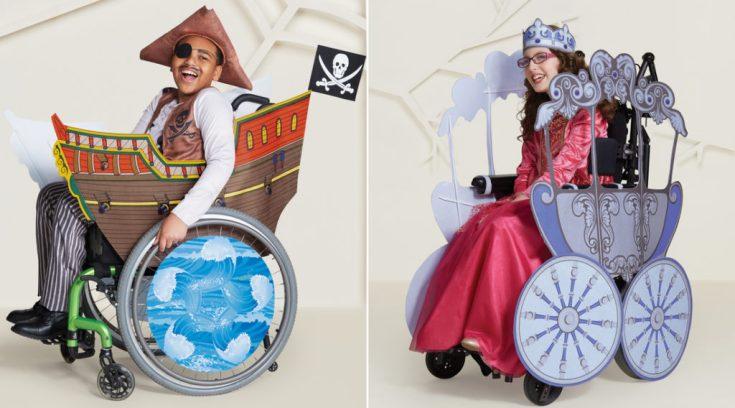 Αλυσίδα κυκλοφόρησε αποκριάτικες στολές για παιδιά με αναπηρίες