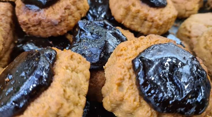 Vegan μπισκότα, με χαμηλές θερμίδες, σε απίστευτες γεύσεις!