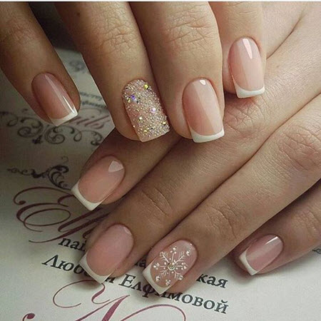 Photo of french manicure 2020-2021