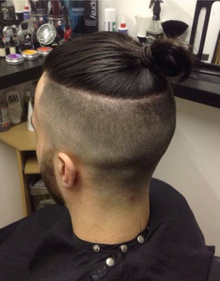 Men's styling Top Knot