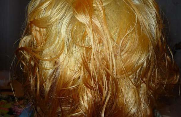 цыплячий цвет волос фото видимого результата правильное