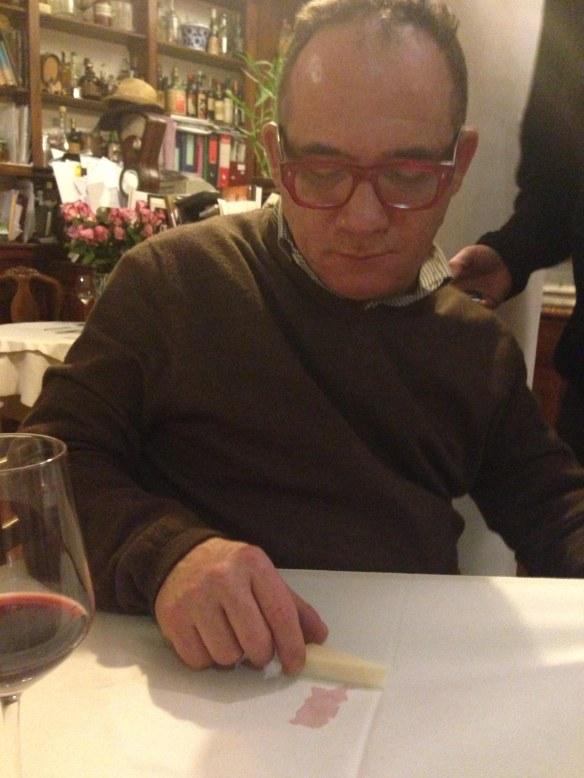 Emanuele created Sardinia from a drop of wine.