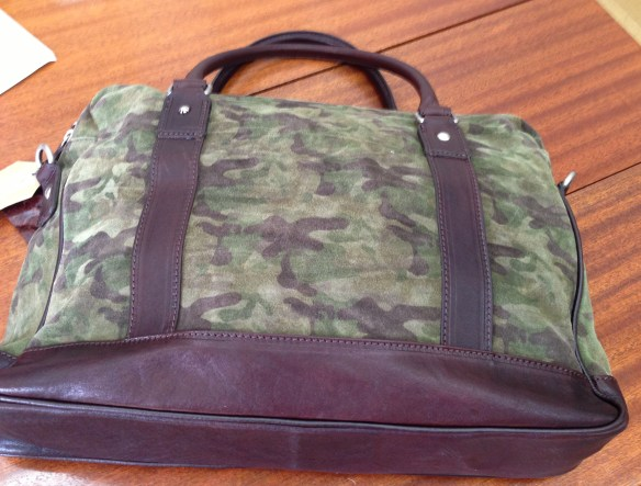 Camo Laptop Bag
