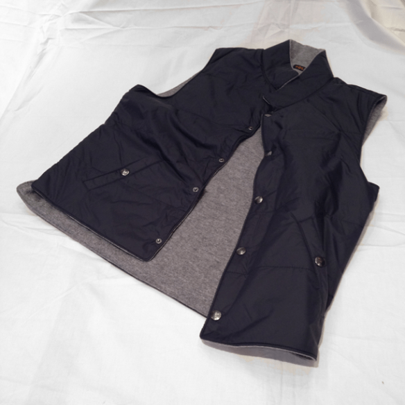 Reversible Nylon/Wool Gilet - 2 other colours