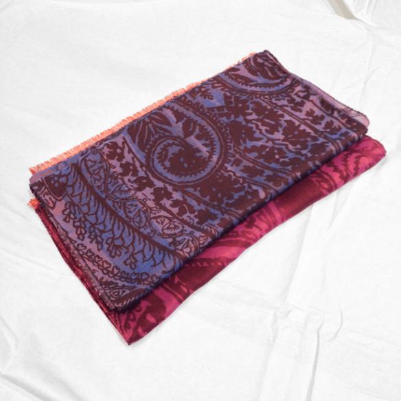 Paisley Scarves - Wool/Silk
