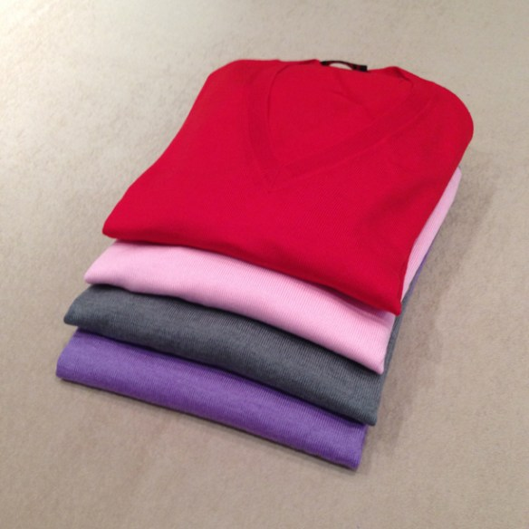 Merino Wool V-Necks - Other Colours available
