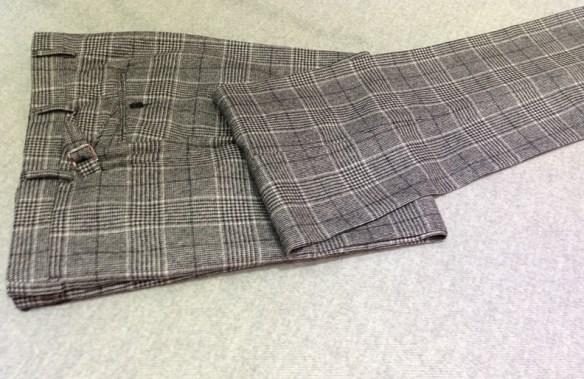 Light Grey Check Flannel