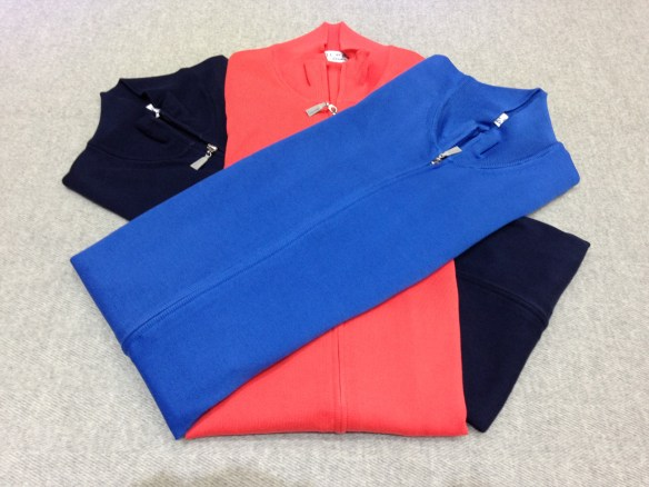 Zip Fronted Pima Cotton Cardigans £165