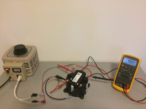 small resolution of potential transformer testing