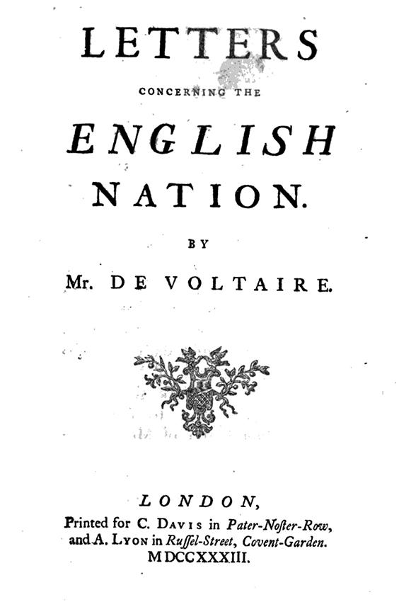 Donne Le Change En 5 Lettres : donne, change, lettres, Letters, Concerning, English, Nation, Voltaire, Foundation