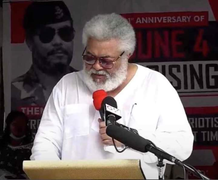 the late J.J Rawlings
