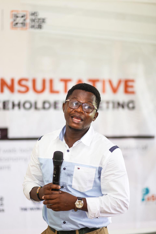 Courage Asase, MD for Ho Node Hub