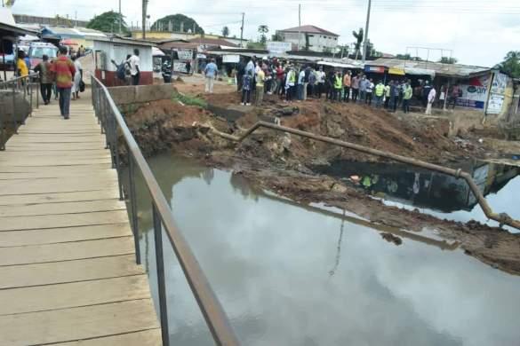 The Amegashie Bridge project