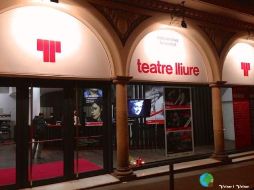 Teatre Lliure - entrada