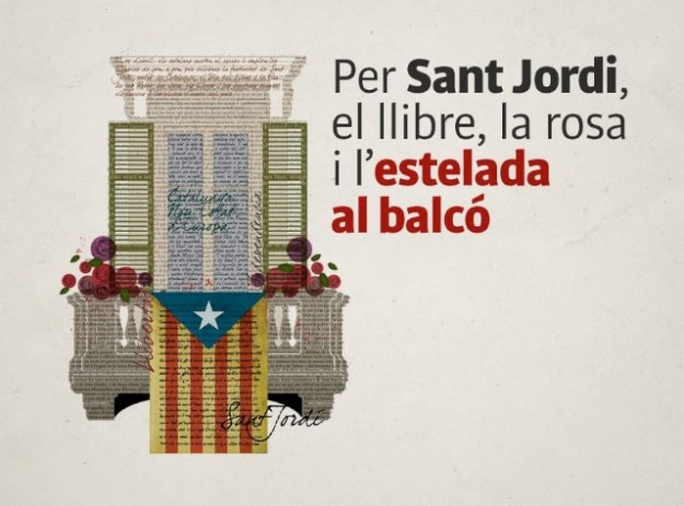 Per Sant Jordi, pena l'estel·lada 2