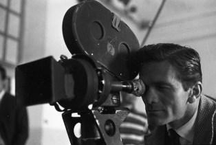 Bernardo Bertolucci i Pier Paolo Pasolini durant el rodatge de Accattone 2