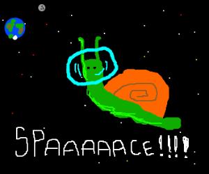 Cargol astronauta