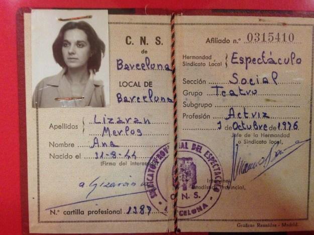 ANNA LIZARAN - Exposició Teatre Lliure 60