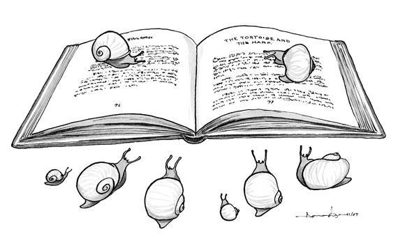 Cargols i literatura