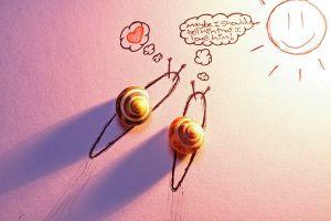 Amor entre cargols