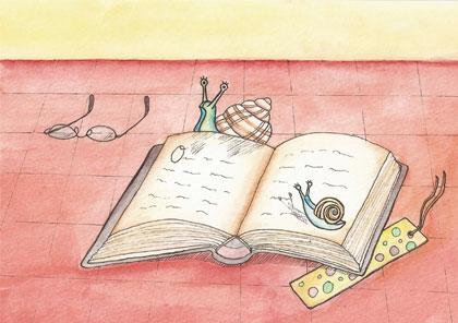 Llibres de teatre i cargols
