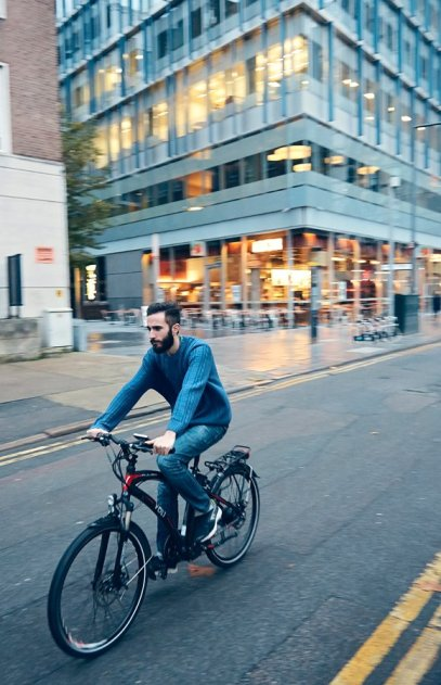 Cycling in the City on Volt Pulse