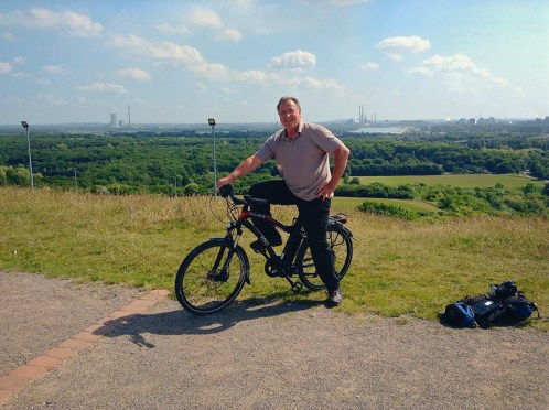 Tony Martin on his Volt Pulse X in Germany expedition