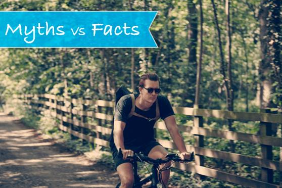 e-bike myths vs facts