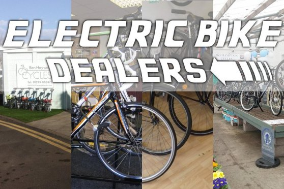New e-bike dealers