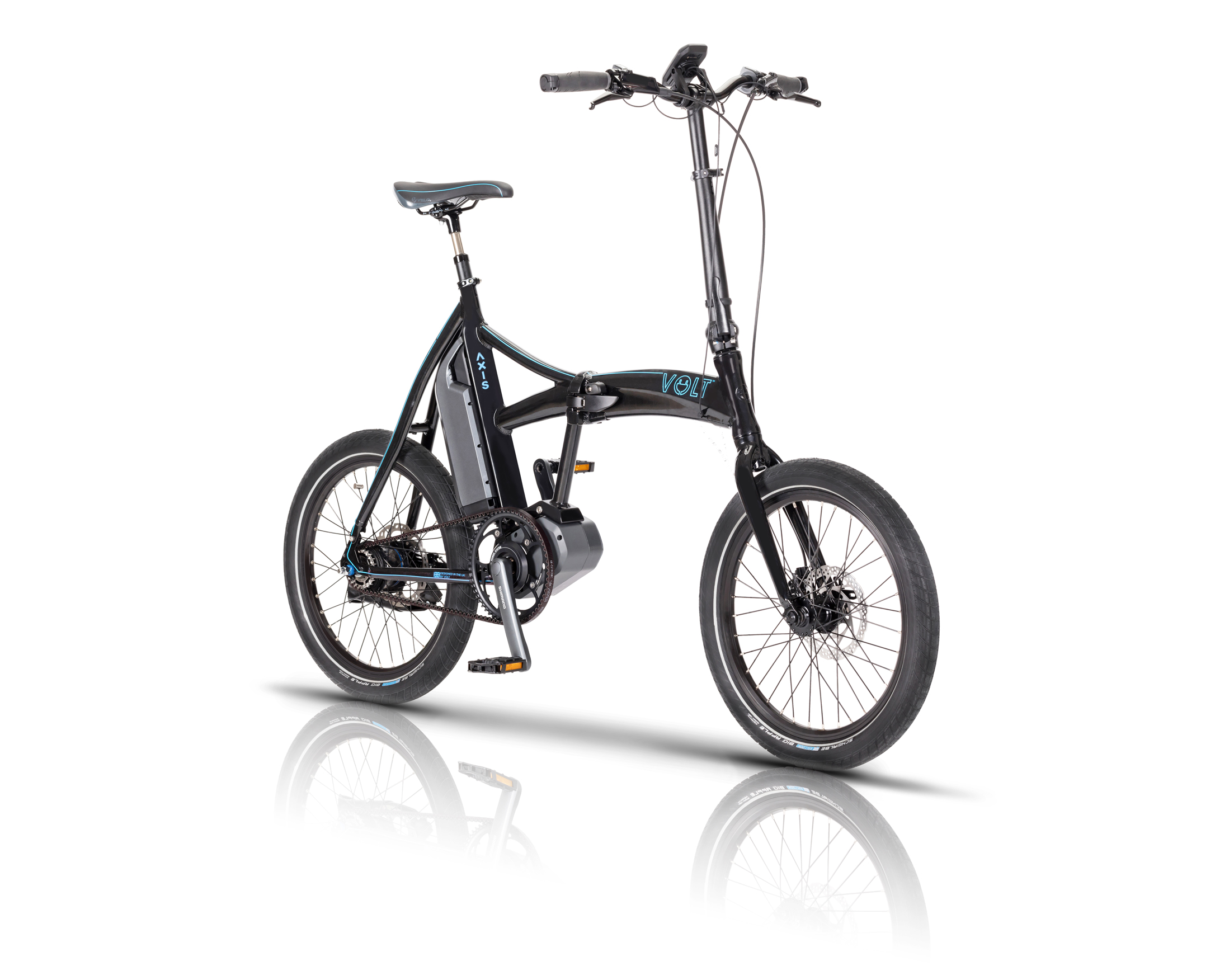Volt Partners Shimano For World First Steps Folding Ebike
