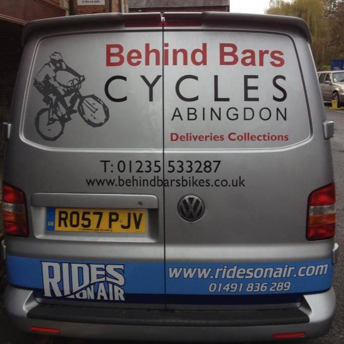 Behind Bars Cycles Abingdon van