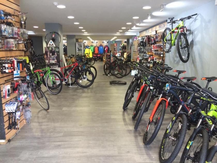 Inside Behind Bars Cycles in Abingdon, United Kingdom