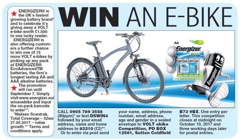 Win an e-bike