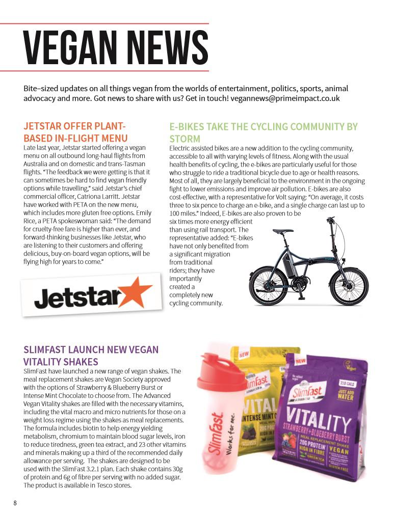 Vegan Life Magazine Vegan News