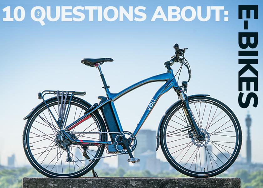 10 Questions about ebikes
