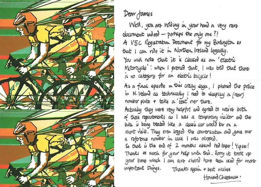 Volt Customer Letter