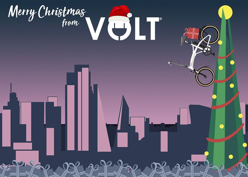 Volt Christmas Card