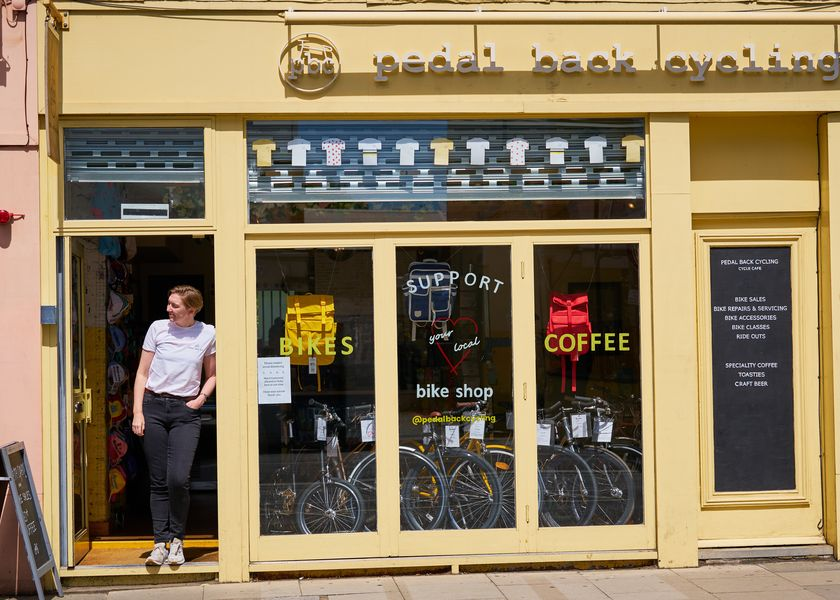 Pedal Back Cycling Shop