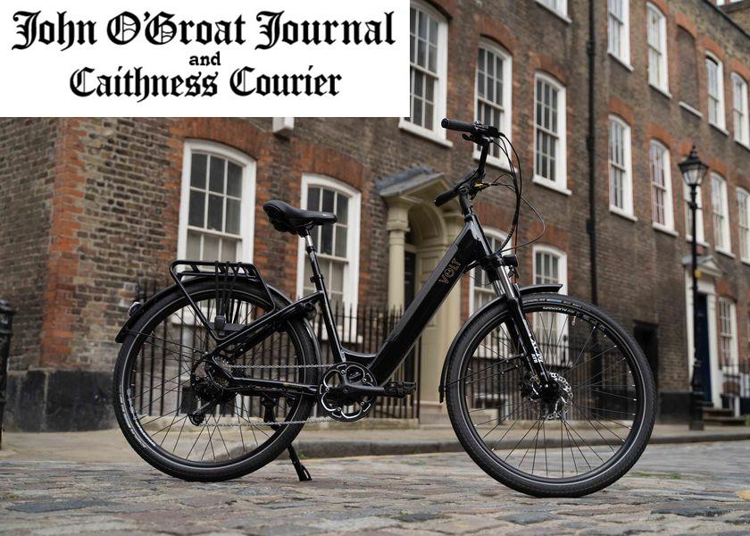 Life is Breezy on a Burlington E-bike in John O'Groats