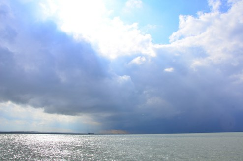 Sunshine over Thames Estuary