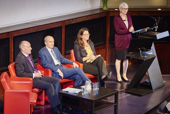 LONDON, UK - 15 SEPT: 21st Century Challenges lecture at the Royal Geographical Society (with IBG). In London, on 15 Sept 2015.