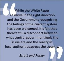 Strutt Parker Quote