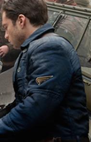 "Shoulder Sleeve Insignia as seen on Sergeant James ""Bucky"" Barnes (AKA Winter Soldier)."