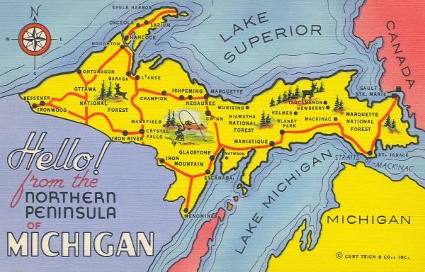 How Wisconsin quotLostquot the Upper Peninsula