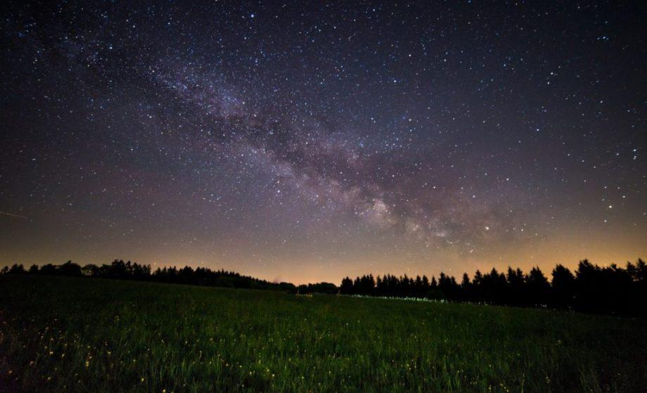 constellation starry night sky